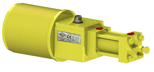 SCOTCH YOKE hidraulic 2