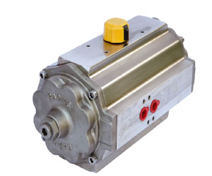 aluminium rack and pinion pneumatic actuator